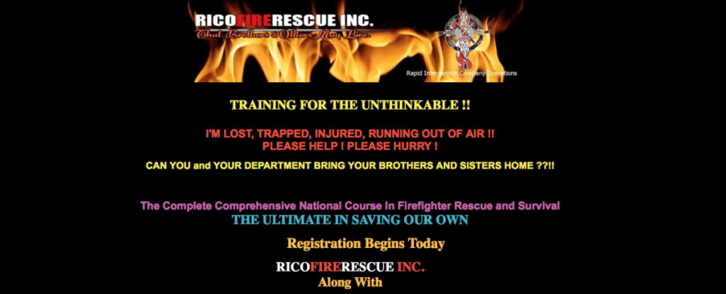 R.I.C.O. Rapid Intervention Company Operations September 16th – 20th 2019